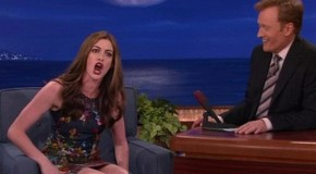 "Anne Hathaway's ""Nicki Minaj Style"" Rap Against The Paparazzi [Video] : The Lion's Den University"
