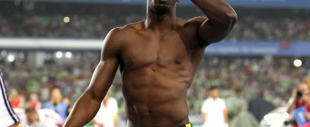 Another stunning performance for Usain Bolt at the world championships.