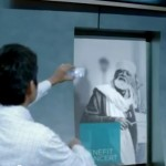 microsoft future - interactive video billboards