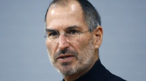 about a hundred black turtlenecks owned by Steve Jobs