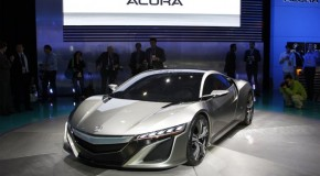 Acura NSX Concept – reborn in America as a hybrid – beautiful