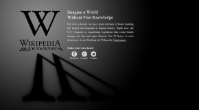 SOPA – Websites to implement blackout today, January 18, in protest