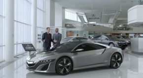 Acura NSX Super Bowl Commercial with Jerry Seinfeld